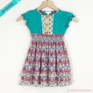 [Matilda Jane] Ruffle Stars Short Sleeve Dress